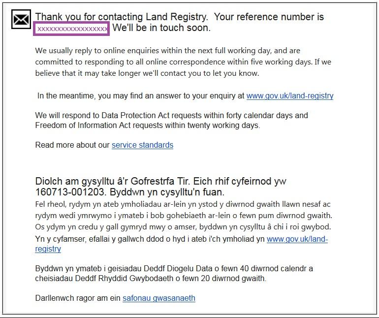 land registry 1